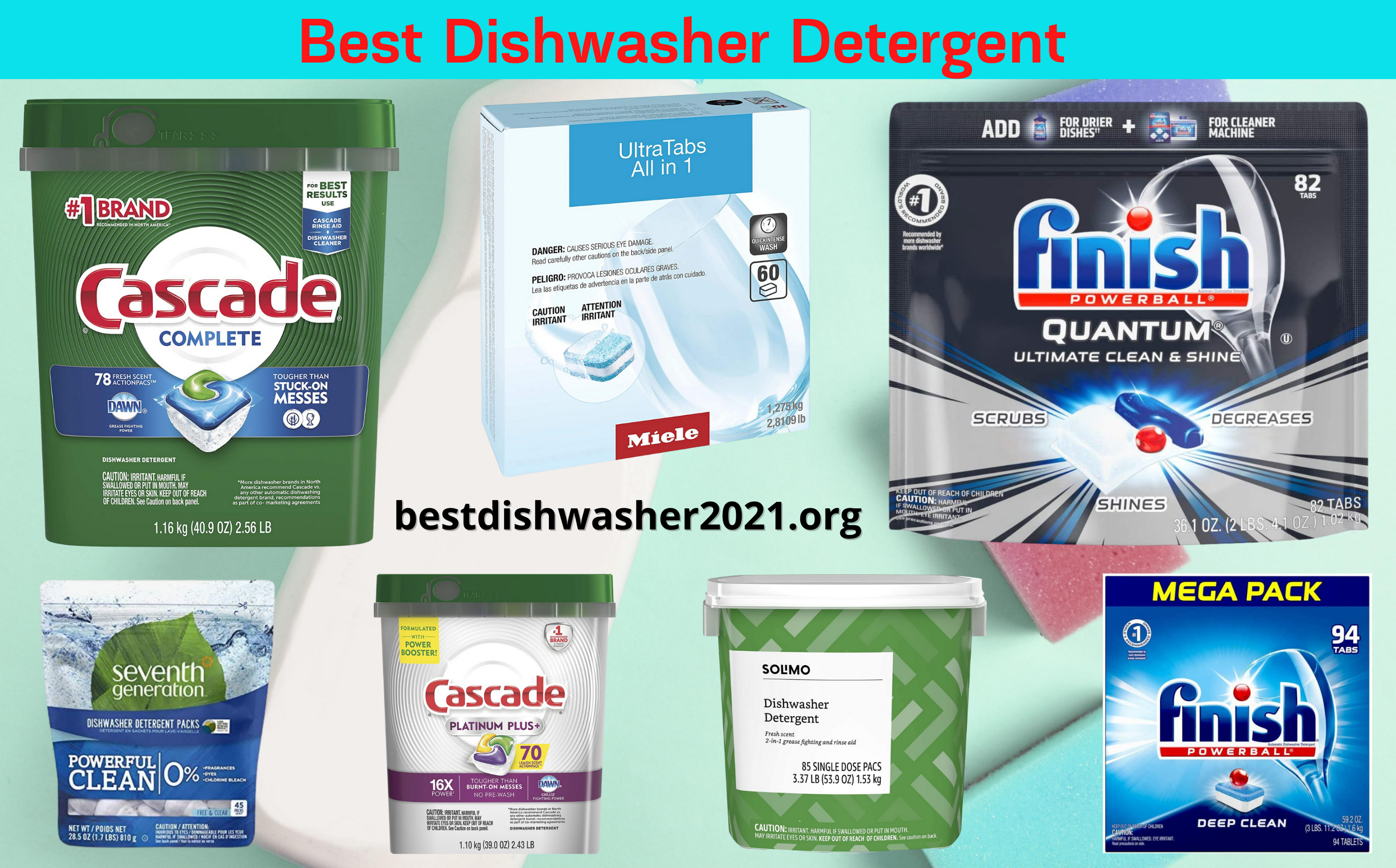 Best Dishwasher Detergent 2021 Reviews Of Dish Detergents