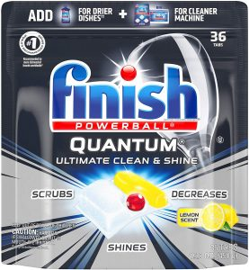 best finish dishwasher tablets